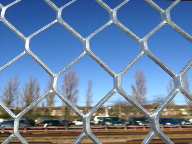 Secure and economical solution, the expanded metal fence