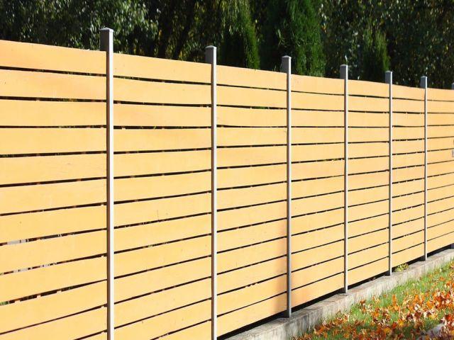 Winchburgh Fencing modern fencing panels
