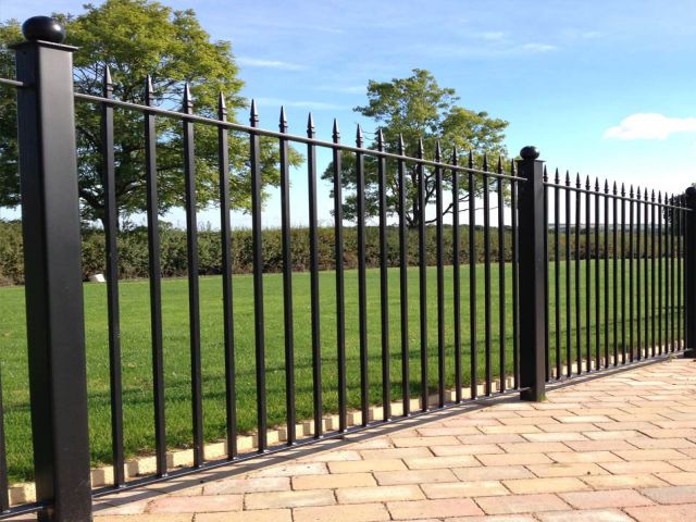 Falkirk fencing Wrought Iron Fencing Panels